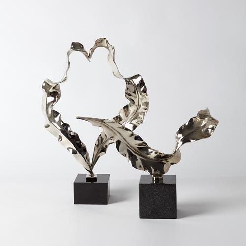 Leaf Sculpture-Nickel
