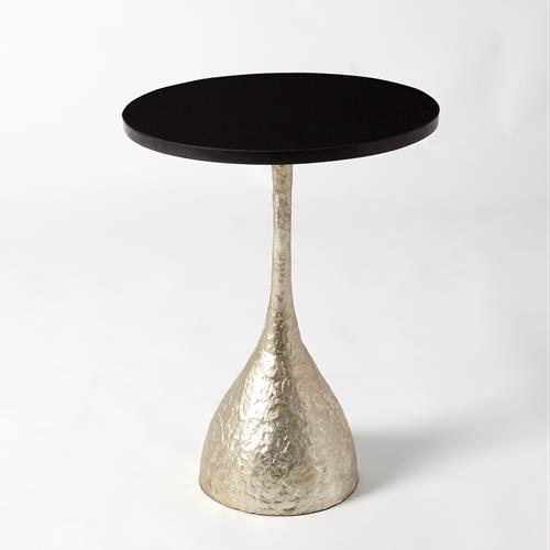 Goblet Table-Silver Leaf