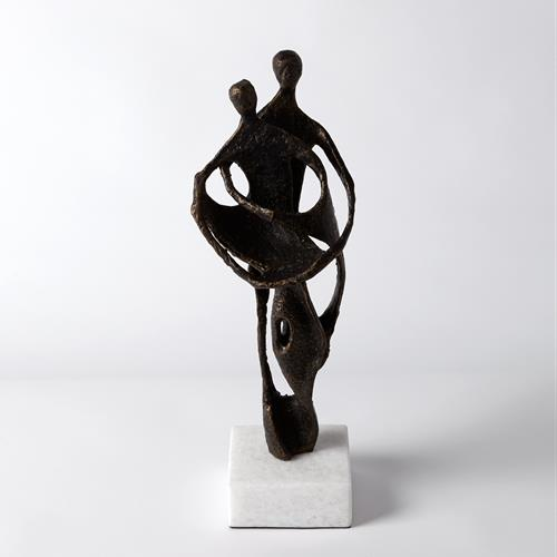 Husband and Wife Sculpture-Bronze