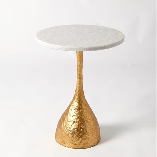 Goblet Table-Gold Leaf
