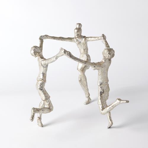 Children Sculpture-Silver Leaf
