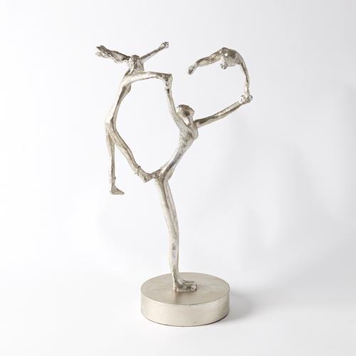 Recess Sculpture-Silver Leaf