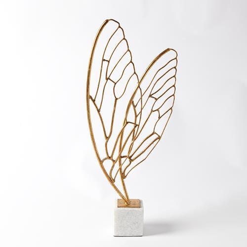 Butterfly Wings-Gold Leaf