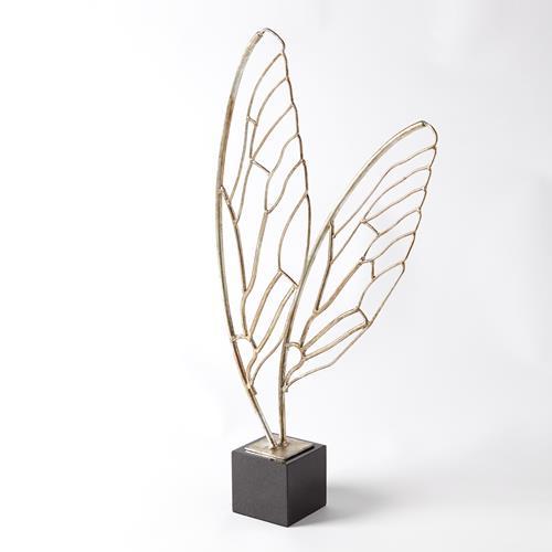 Butterfly Wings-Silver Leaf