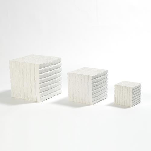 Vaneau Cube-Matte White