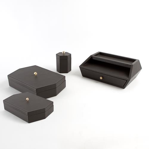 Tiffany Collection-Graphite Leather
