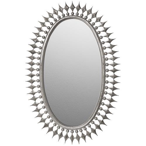 Wellington Mirror-Silver Leaf
