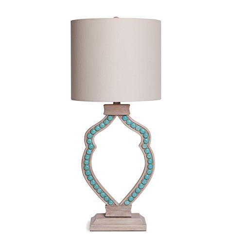 Cabochon Lamp-Turquoise