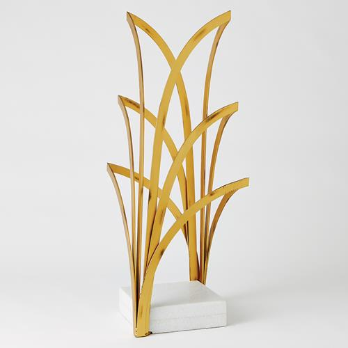 Arches Sculpture-Gold