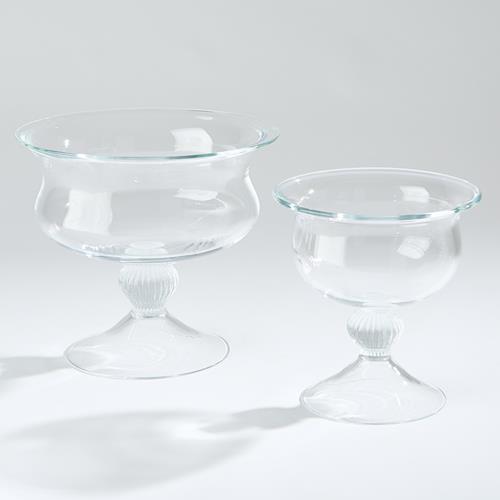 Pedestal Bowl-Clear