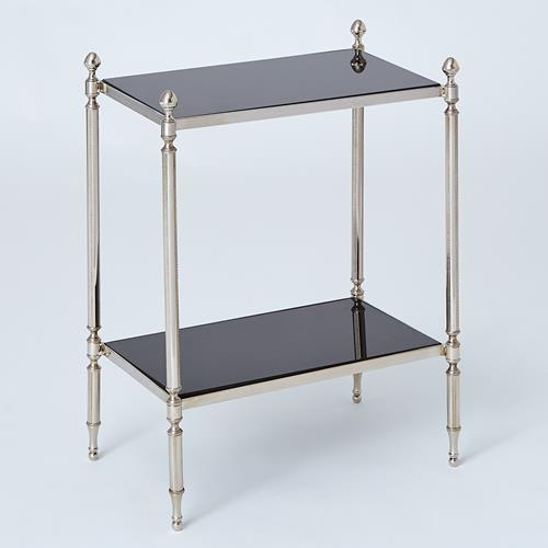 Acorn Side Table-Nickel