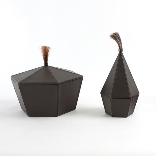 Zephyr Boxes-Graphite Leather