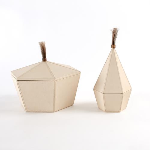 Zephyr Boxes-Milk Leather