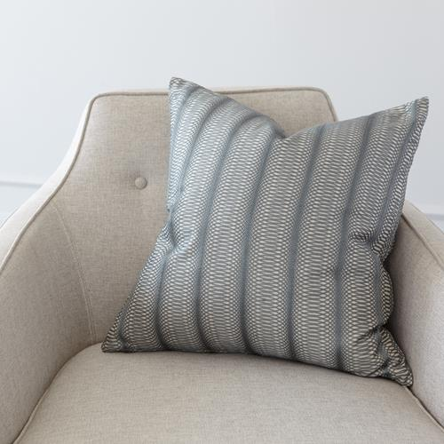 Penny Pillow-Grey Embroidered