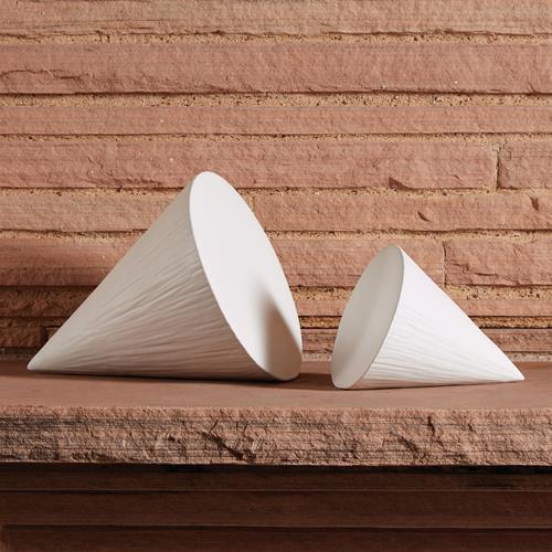 Grenelle Cone-Matte White