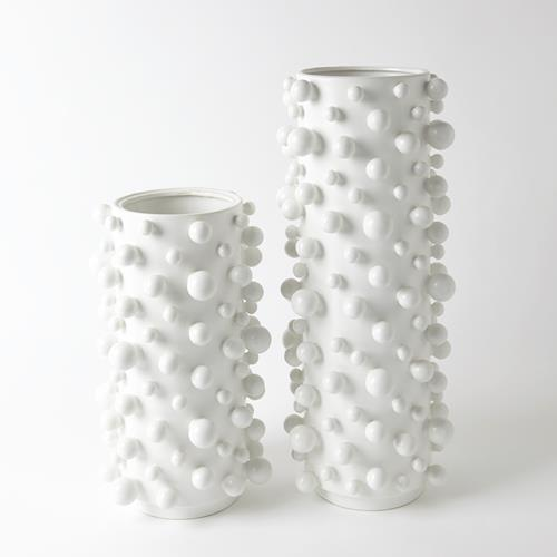 Molecule Vase-Matte White