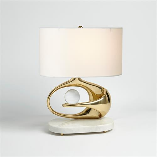 Orbit Lamp - Brass