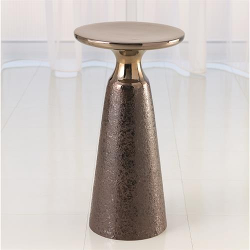 Meteor Taper Table-Bronze