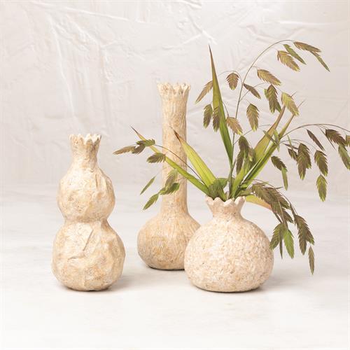 Alma Vase-Cream