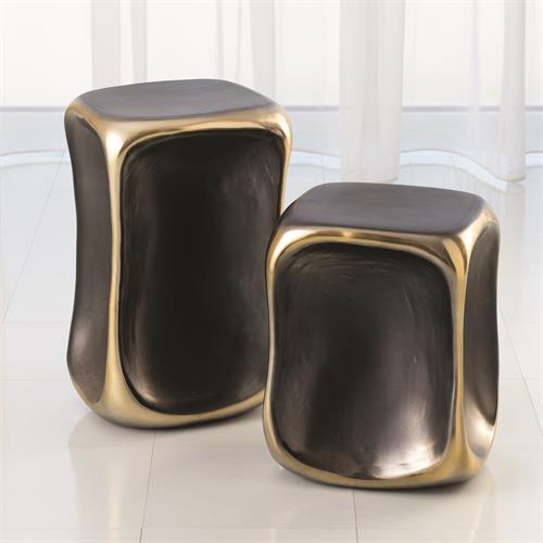 Formation Accent Tables-Black/Gold