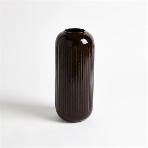 Capsule Vase-Bronze