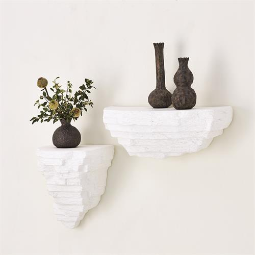 Viala Sculptural Wall Shelf