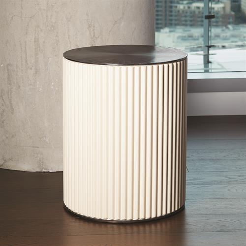 Camille Side Table-Bronze