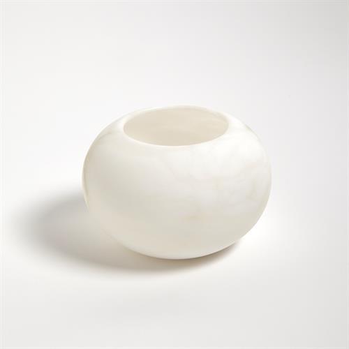 Alabaster Tea Light Holder