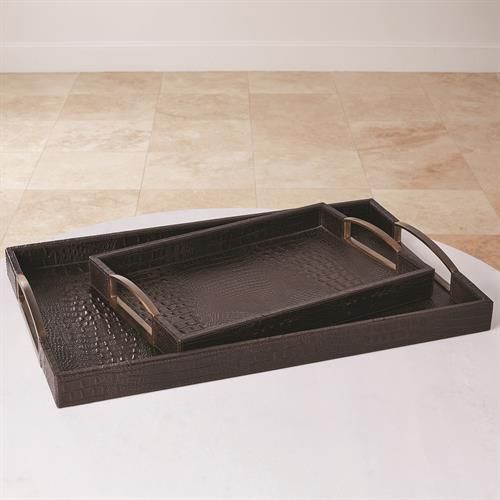 Croc Tray-Chocolate