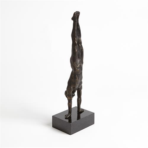 Hand Stand-Bronze