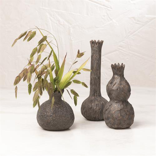 Alma Vase-Bronze