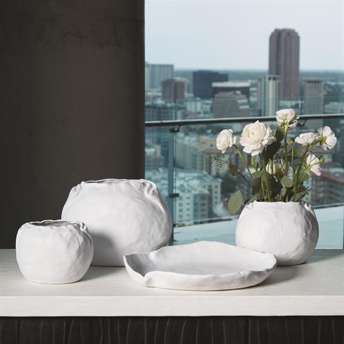Petale Bowl-Matte White