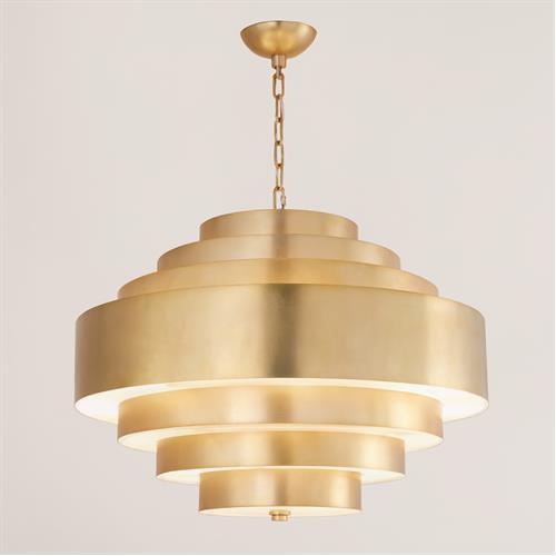Saturn Pendant-Antique Brass
