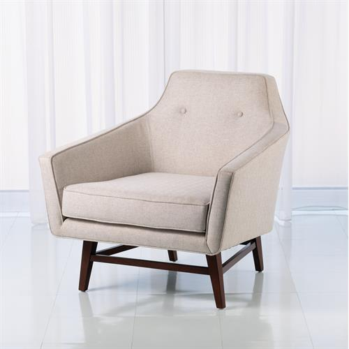 Edward Lounge Chair-Candid Fleece
