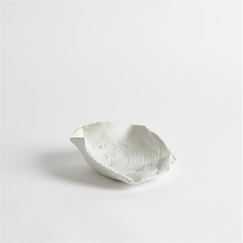 Loopy Eye of Beech Bowl-Matte White