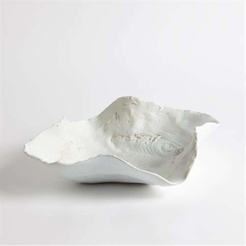 Double Beech Eyes Bowl-Matte White