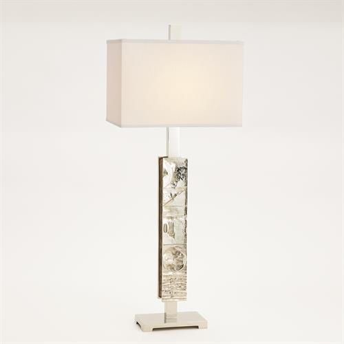 Pimlico Table Lamp-Nickel
