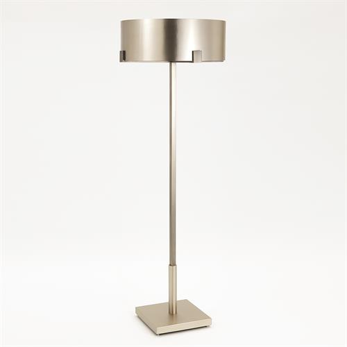 Empire Floor Lamp-Nicke/Graphite