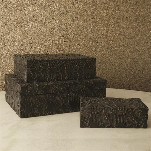 Dentwood Boxes-Weathered Black