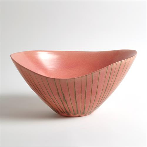 Striped Melon Bowl