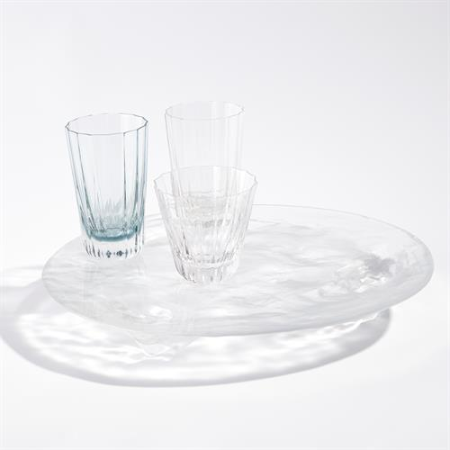 LiuLi Clear Glass Trays