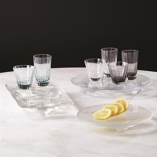 LiuLi Clear Glass Trays