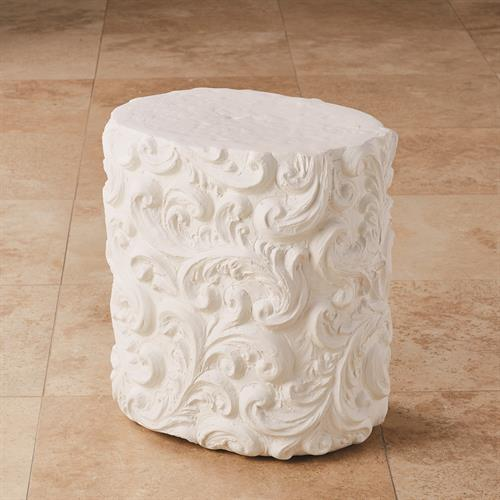 Baroque Table-Matte White
