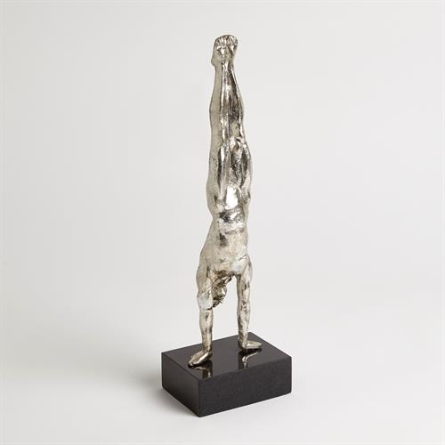 Hand Stand-Thai Silver