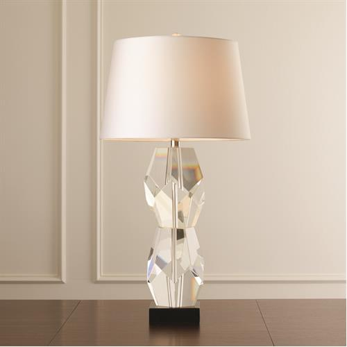 Facet Block Lamp-Double