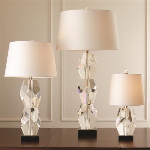 Facet Block Lamp-Triple
