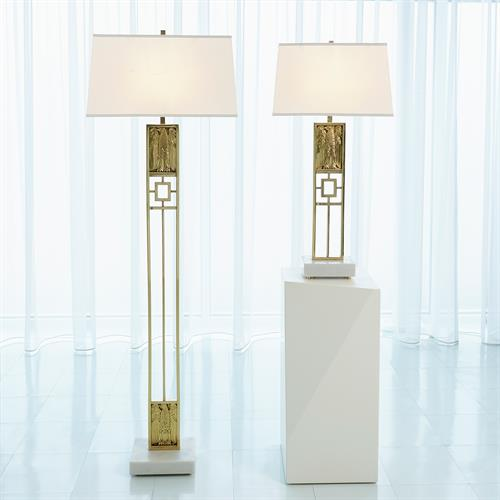 Republic Table Lamp-Brass