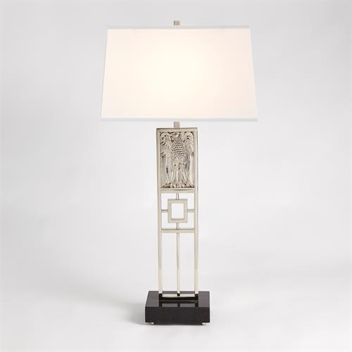 Republic Table Lamp-Nickel