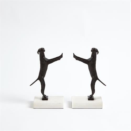 Golden Retriever Bookends - Pair