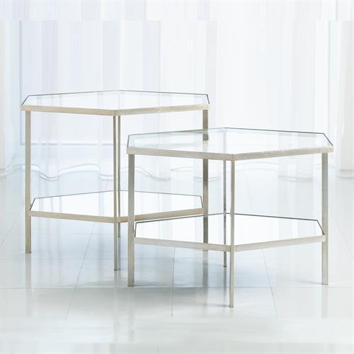 Hexagon Table-Silver